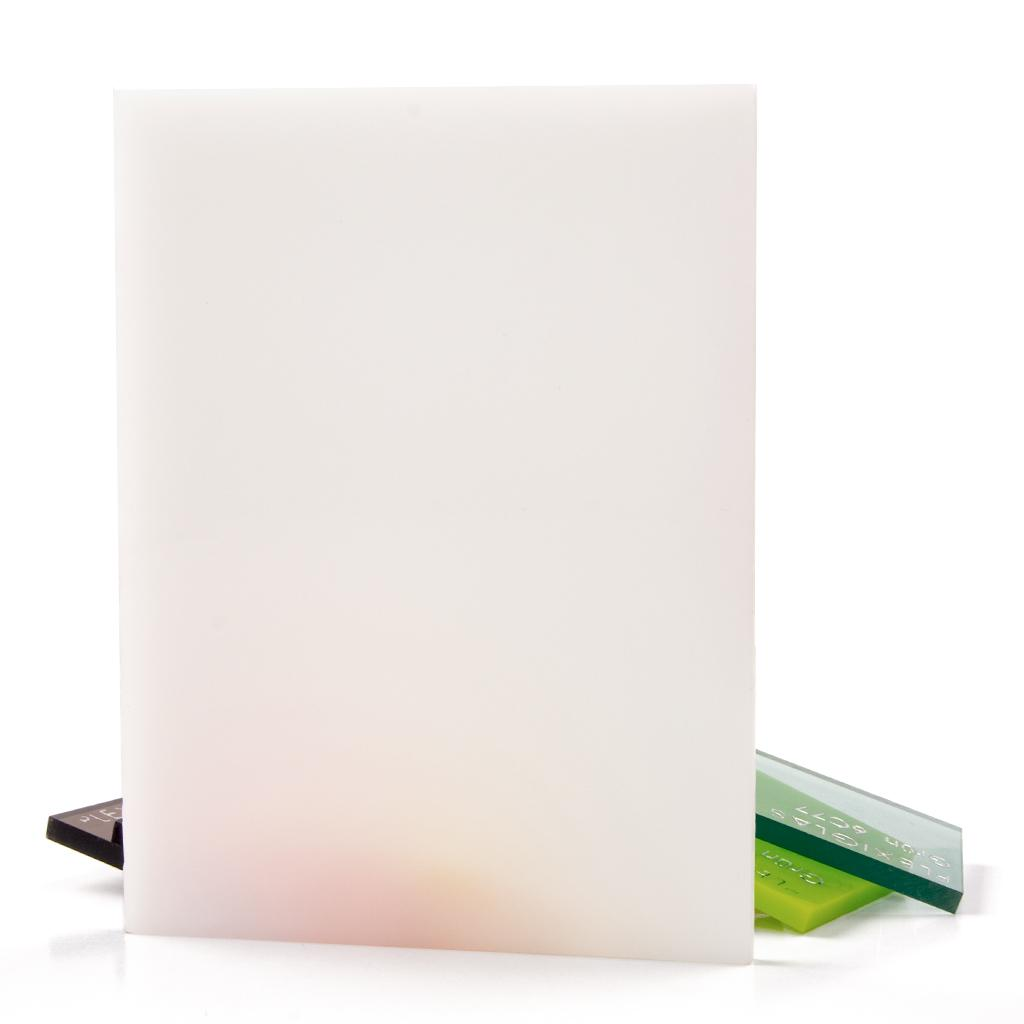 PLEXI GS 3MM TRANSLUCENT OPAL GLOSS WH02 600X600MM