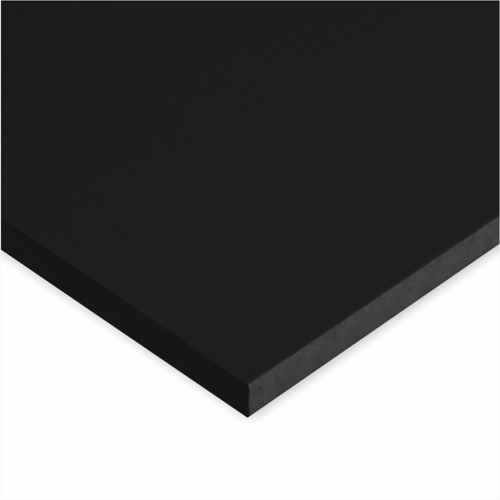 POLYSTONE G SHEET BLACK 6 MM