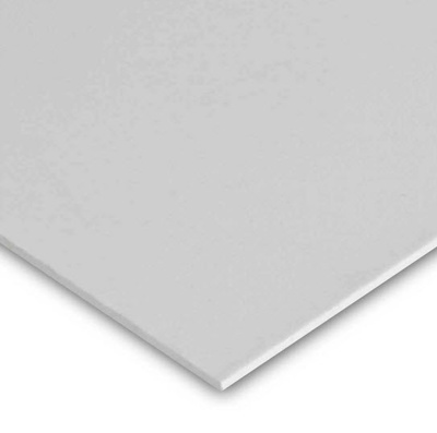 ABS PANEL 190 X 190 X 0.9MM WHITE (PACK OF 10)