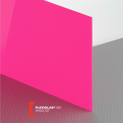 PLEXI GS 3MM PINK GLOSS 3H00 1000X700MM