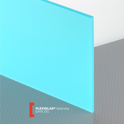 PLEXI S/ICE 6MM LAGUNA BLUE 5H74 DC 600X600MM