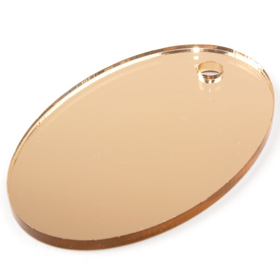 ACRYLIC XT MIRROR SHEET 3MM GOLD (I) 500MM X 500MM