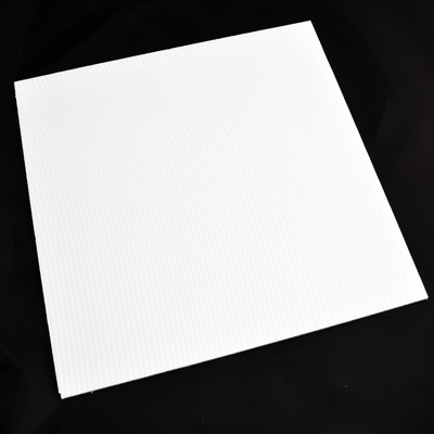 S-CORU PANEL A4 WHITE 297 X 210 X 3MM (PACK OF 10)