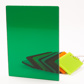 PLEXI GS 3MM TRANSPARENT GREEN GLOSS 6C14 1000X700MM