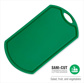 SANI CUT GREEN CUTTING BOARD 470MM X 265MM X12MM