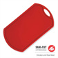SANI CUT  RED CUTTING BOARD 470MM X 265MM X12MM