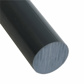 GEHR PVC ROD GREY 140 MM/DIA (W)