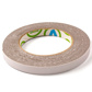 TAPE VST DOUBLE SIDED 1.10X12MM 6,6M/ROLL GREY FOAM